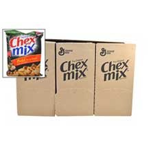 Chex Mix Bold Party Blend Snack Mix, 43.75 Ounce -- 6 per case.