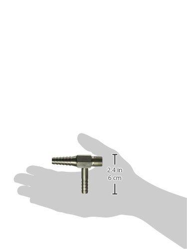 3 Length Humboldt H-12100 Stainless Steel Aspirator Filter Pump 3//8 NPT