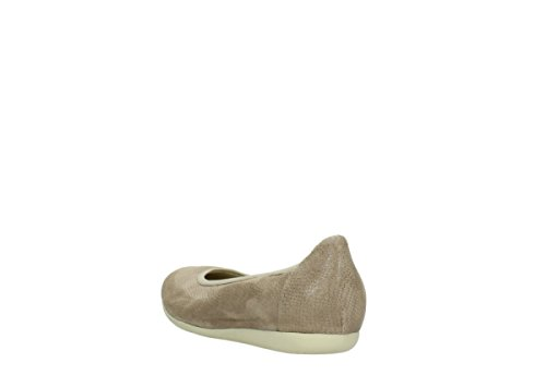 Wolky Comfort Ballet Pumps Tampa 20150 Taupe Leather GUtjfpa