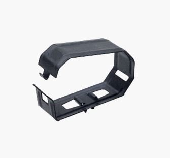 Heater Hose Clamp Support Retainer Bracket, Inner Fender, Each