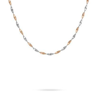 HISTOIRE D'OR - Chaine Or - Femme - Or 2 couleurs 375/1000 - Taille Unique