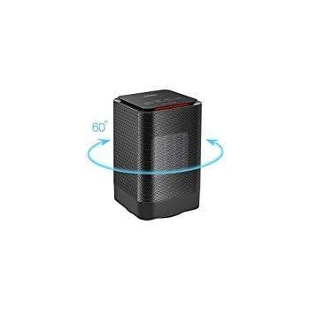 Amazon Com Oittm Electric Oscillating Mini Space Heater