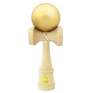 日本けん玉協会推奨けん玉 大けん玉 太陽 Mサイズ 24cm ゴールド B017GQQSB0