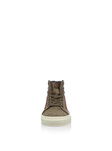Vans Zip Ca abotinadas U Salut Brun Brun Sk8 Chaussures OYwndO