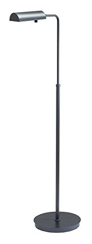 House of Troy G100-GT Generation Collection 32-1/2-Inch to 45-Inch Adjustable Pharmacy Floor Lamp, Granite