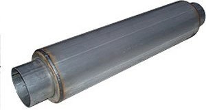 MBRP GP120809 26 Aluminized Mild Tone Single Muffler by MBRP