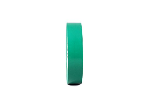 """T.R.U. EL-766AW Green General Purpose Electrical Tape 3/4"""" (W) x 66' (L) UL/CSA listed core. Utility Vinyl Synthetic Rubber Electrical Tape from GGR Supplies"""