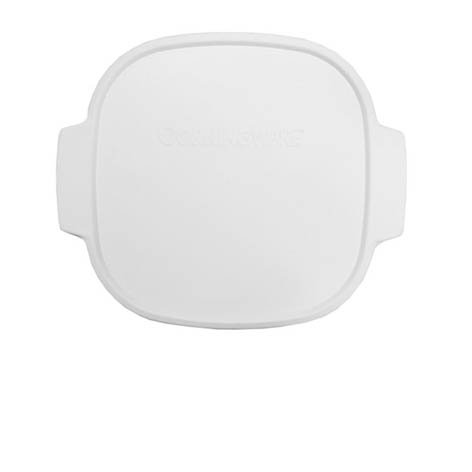 CORNINGWARE StoveTop 2-qt / 3-qt White Plastic Cover for sale  Delivered anywhere in USA