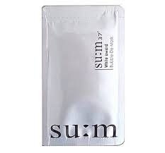 SU:M37 White Award Bubble-De Mask (5 pcs) - Korea Imported