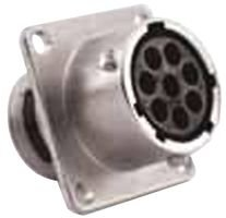 Circular Connector, High Density, RT360, RTOW Series, Wall Mount Receptacle, 26 ()