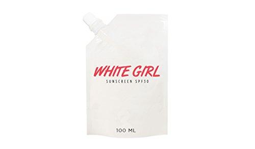 (White Girl Sunscreen SPF 30)