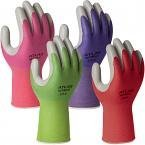 New Atlas 370 garden gloves with tough nitrile coating - pairs by Showa (Showa Gloves Gardening)