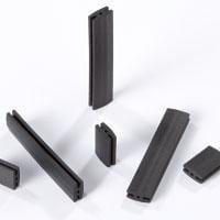 LED Mounting Hardware LED Mount Self Ret Universal LED Black, Pack of 500 (ERM 1-1.030)