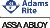 Adams Rite 1877-628 Cylinder-Operated Flushbolt For Wood Doors by Adams Rite ASSA ABLOY