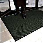 Office Depot(R) Brand Scrape And Dry Mat, 3ft. x 5ft., Charcoal Office Depot Floor Mats