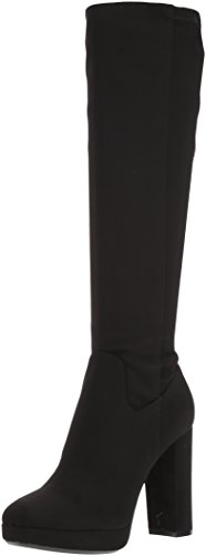 Calvin Klein Women's Mailia Knee High Boot, Black, 6 Medium US by Calvin Klein
