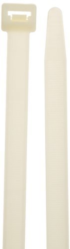 Morris Products 20092 Nylon Cable Ties, 11 Length, 0.5 Width, 250lbs Tensile Strength, 3.19 Max Bundle Diameter (Pack of 100) by Morris Products