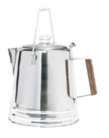 Texsport Stainless Steel 14 Cup Percolator, Outdoor Stuffs