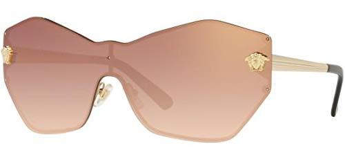 Versace Women's VE2182 Pale Gold/Gradient Pink Mirror One Size