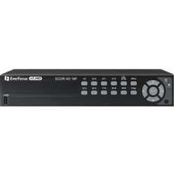 (Everfocus ECORHD16F/1T 720P Had Digital Video Recorder, Multiple Monitor Outputs, 16 Channel, Without DVD Burner, 1TB Storage)