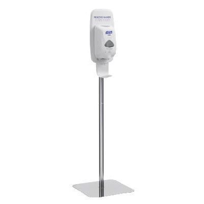 PURELL Purell TFX Floor Stand for TFX Touch Free Dispensers in Polished Chrome by Purell (Image #1)