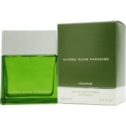Alfred Sung Paradise for Men By Alfred Sung 3.4oz Eau De Toilette (Alfred Sung 3.4 Edp)