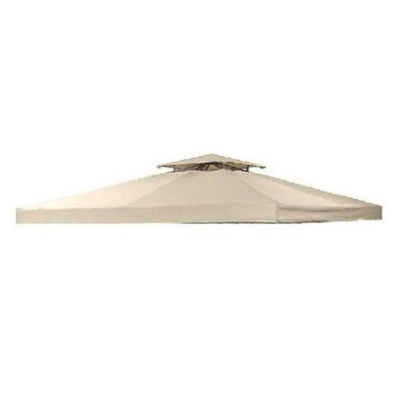 Garden Winds OPEN BOX 8′ x 8′ Universal Replacement Canopy Top Cover with RIPLOCK TECHNOLOGY
