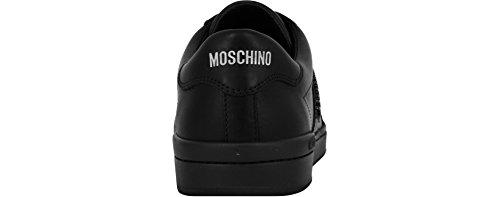 basse nero homme Moschino Languette Nero Noir gq6Cq7wxp
