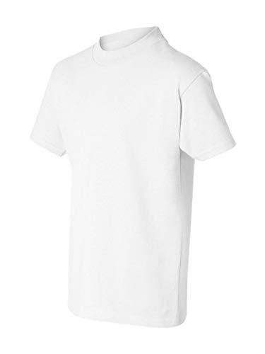 - Hanes Authentic Tagless Kid`s Cotton T-Shirt White