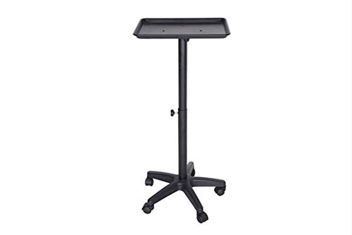 Salon Style Barbering Premium Aluminum Instrument Tray Trolley Cart Silver on Wheels Tattoo Rolling Tray Multi-Use for Coloring, Tinting, Styling, Salon Service Tray Tattoo or Facial Service
