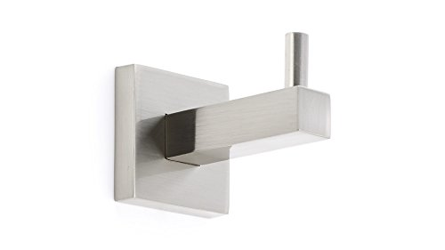 Richelieu Hardware - NB1030549 - Contemporary - Bathroom Hook - Palisades Collection - Brushed Nickel  Finish
