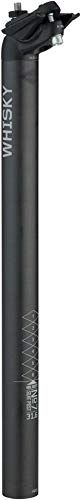 WHISKY - No.7 Carbon Fiber Bicycle Seatpost - 31.6mm x 400mm, 18mm Offset by WHISKY