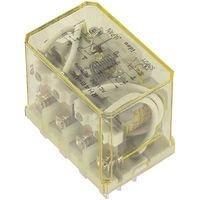 IDEC RH4B-ULAC24V POWER RELAY, 4PDT, 24VAC, 10A, PLUG IN