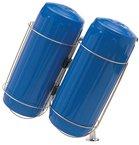 Stainless Steel Fender Holder 2 Basket Kit, for 6 inch fenders