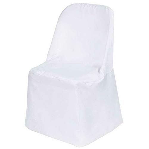 (Mikash Folding Polyester Chair Covers Wedding Party Banquet 3 Colors Free USA Shipping! | Model WDDNGDCRTN - 20127 | 15)