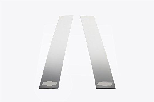 Pillar Rear Trim - Putco 402617GM-1S Stainless Steel Tahoe Rear Pillar Trim - 2 Piece