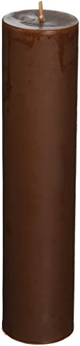 2 x 9 Brown Pillar Candle