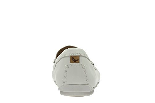 Damenschuhe Mokassins Un Terra Off White Leather 26124055
