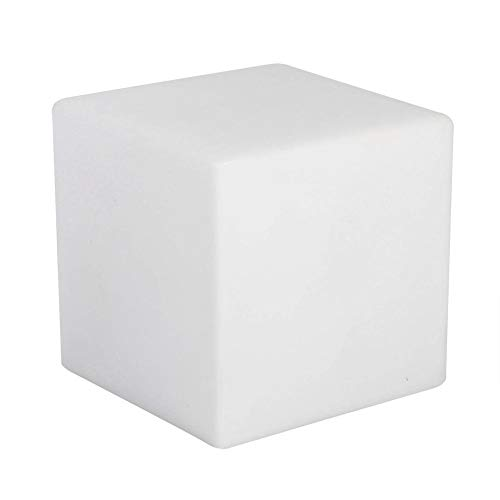 LED RGB Cube Light 7 Color Changing Mood Cube Night Light Ideal for Mood Lamp Pool Yard Home Party Bedroom Decoration Lighting