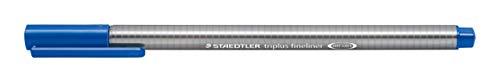 Staedtler Triplus Fineline 334–Superfine Tip 0.3mm Bleu Delft