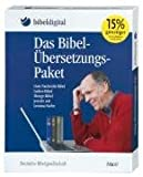 Das Bibelübersetzungs-Paket: Luther-Bibel, Gute Nachricht Bibel, Menge-Bibel mit Lemma-Suche