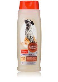 Dog Hartz Shampoo (HARTZ Groomer's Best Oatmeal Shampoo, 18-Ounce)