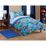 Twin Size Coordinated Bed in a Bag Kids' Dinosaur