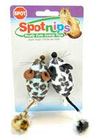 Ethical Pet Products Spot Animal Print Rattle W Nip 2Pk Spot Animal Print Rattle 2Pk Scratchers and Toys