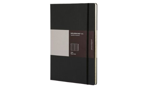 Moleskine Folio Professional Index Book, A4, Black (8.25 x 11.75) by Moleskine