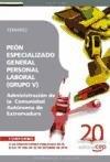 Descargar Libro Peón Especializado General, Personal Laboral De La Administración De La Comunidad Autónoma De Extremadura. Temario Vv.aa.