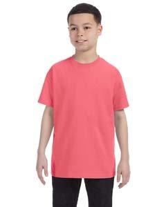 Hanes Authentic TAGLESS Kid`s Cotton T-Shirt