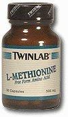TwinLab - L-Méthionine, 500 mg,