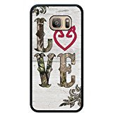 Samsung Galaxy S7 Edge Nupro Lightweight Protective Cover Browning Camo Deer Hunter Cell Phone Case (Browning Cell Phone Cases)