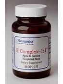 Metagenics E Complex-1:1 -- 60 Softgels